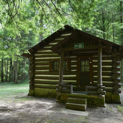 Cabins At Cabwaylingo State Forest West Virginia State