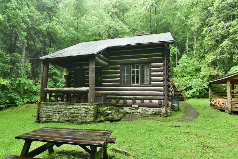 Cabins At Babcock West Virginia State Parks West Virginia State