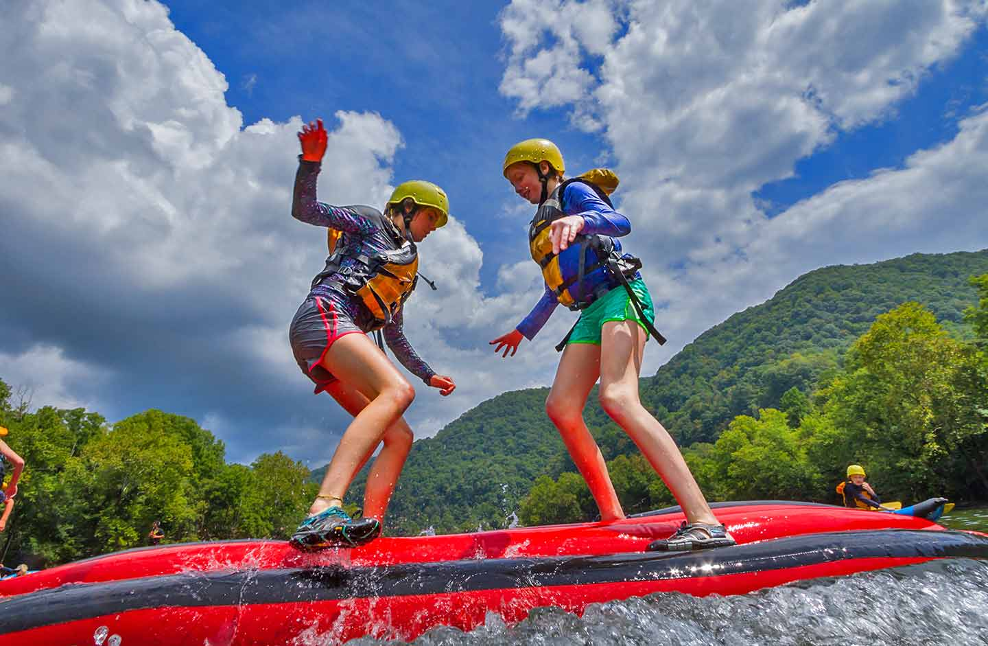 Upper New River Gorge Rafting 10 West Virginia State Parks
